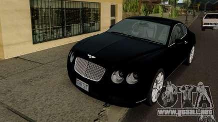 Bentley Continental GT V1.0 para GTA San Andreas