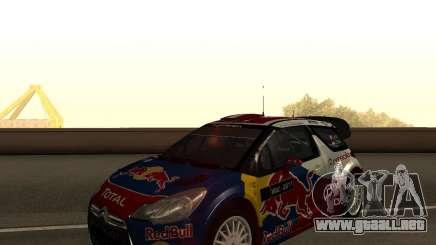 Citroen DS3 WRC para GTA San Andreas