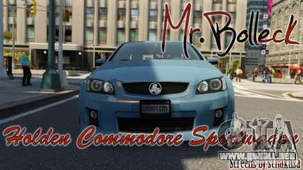 Holden VE Commodore Sportwagon SS 2009 para GTA 4