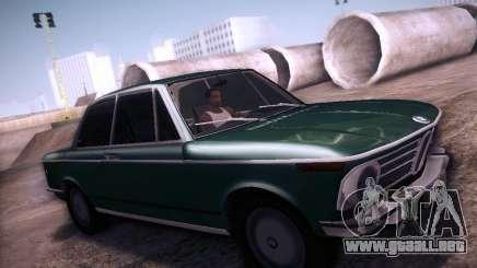 BMW 2002 1972 para GTA San Andreas