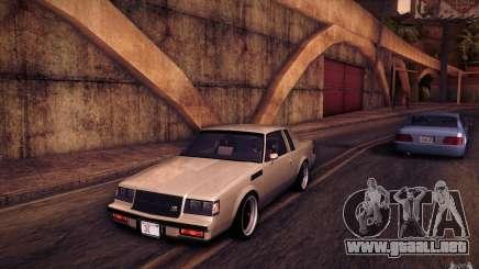 Buick Regal GNX para GTA San Andreas