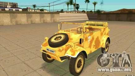 Kuebelwagen v2.0 desert para GTA San Andreas