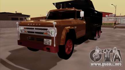 Dodge Dumper para GTA San Andreas