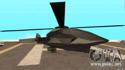 MQ Drone from BO2 para GTA San Andreas