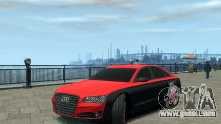 Audi A8 tuning para GTA 4