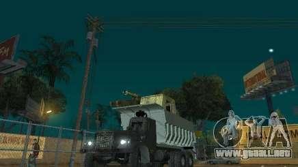 KrAZ-256b1-030 para GTA San Andreas