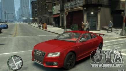 Audi S5 v2 para GTA 4