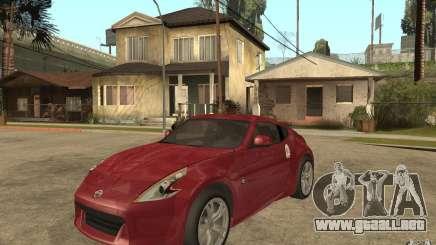 Nissan 370Z 2010 para GTA San Andreas
