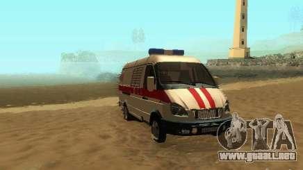 Gacela 32214 ambulancia para GTA San Andreas