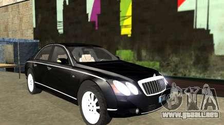 Maybach 57S para GTA San Andreas