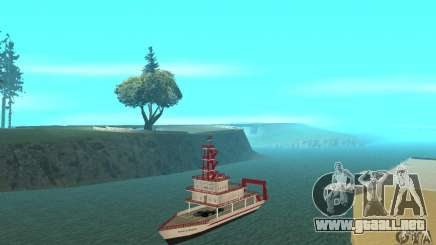 Vice City Ferryboat para GTA San Andreas