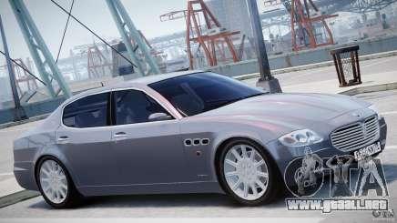 Maserati Quattroporte V para GTA 4