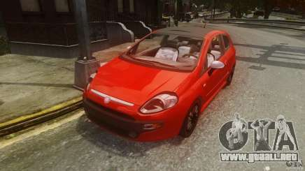 Fiat Punto Evo Sport 2010 para GTA 4
