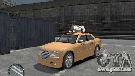 Chrysler 300c Taxi v.2.0 para GTA 4