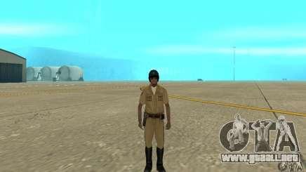 New uniform cops on bike para GTA San Andreas