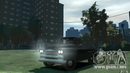 Chevrolet Apache Fleetside 1958 para GTA 4