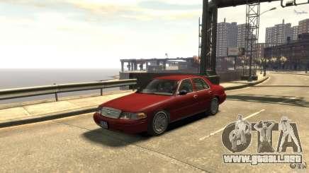 Ford Crown Victoria para GTA 4