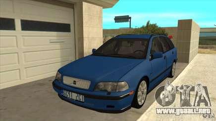 Volvo V40 - Stock para GTA San Andreas