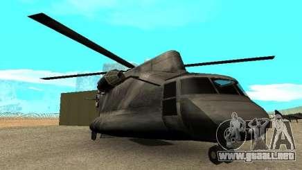 New Cargobob para GTA San Andreas