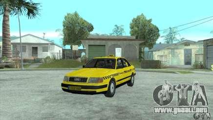 Audi 100 C4 (Taxi) para GTA San Andreas