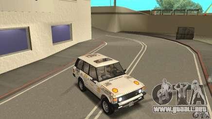 Range Rover County Classic 1990 para GTA San Andreas