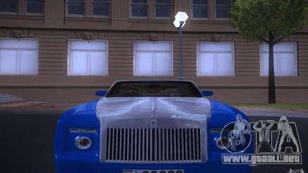 Rolls-Royce Phantom Drophead Coupe para GTA San Andreas