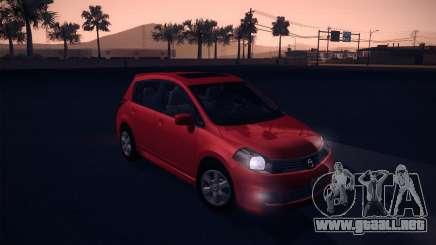 Nissan Versa Stock para GTA San Andreas