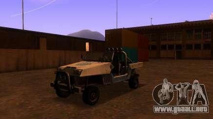 Camioneta de T3 para GTA San Andreas