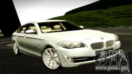 BMW 550i F10 para GTA San Andreas