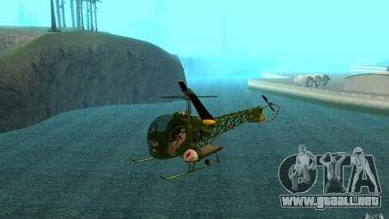 Bell H13 para GTA San Andreas
