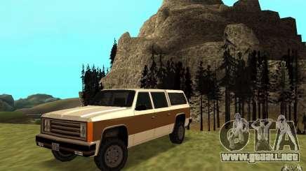 Un ranchero del FBI civil para GTA San Andreas