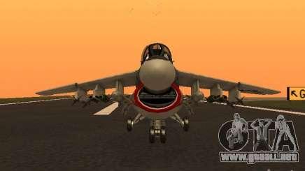 A-7 Corsair II para GTA San Andreas