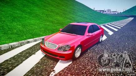 Mercedes-Benz S600 para GTA 4