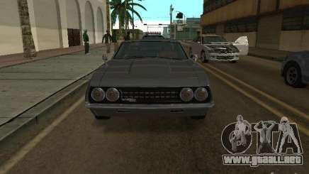 Sabre de GTA 4 coupé para GTA San Andreas