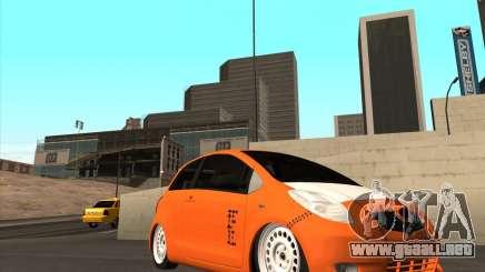 Toyota Yaris II Pac performance para GTA San Andreas