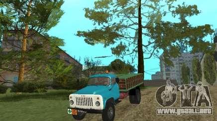 GAZ-53 ballonovoz para GTA San Andreas