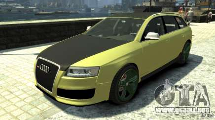 Audi RS6 Avant 2010 Carbon Edition para GTA 4