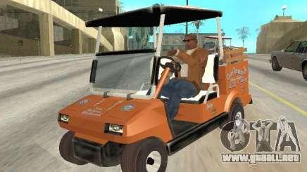 Golfcart caddy para GTA San Andreas