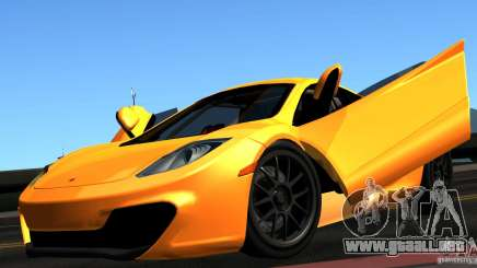 McLaren MP4-12C TT Black Revel para GTA San Andreas