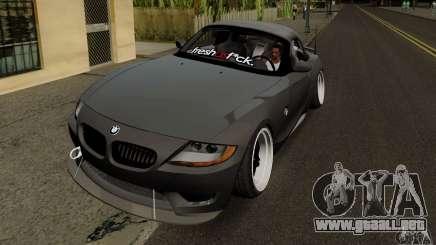 BMW Z4 Hellaflush para GTA San Andreas