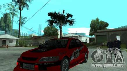 Mitsubishi Lancer Evo IX MR Edition para GTA San Andreas