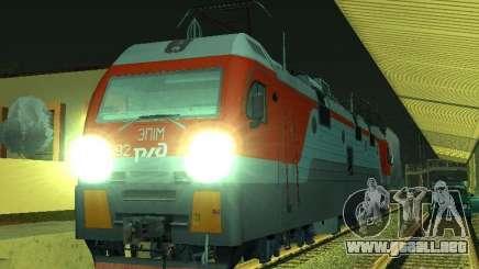 ÈP1M-392 OJSC «RUSSIAN RAILWAYS» para GTA San Andreas