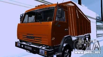 KAMAZ 54115 camión para GTA San Andreas