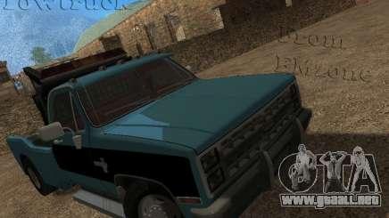 Chevrolet Towtruck para GTA San Andreas
