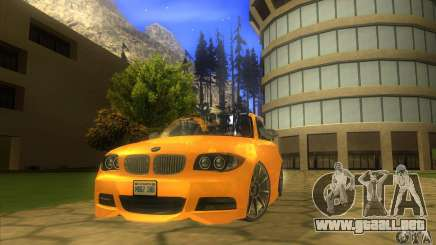 BMW 135i Coupe Custom para GTA San Andreas