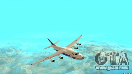 El an-124 Ruslan para GTA San Andreas