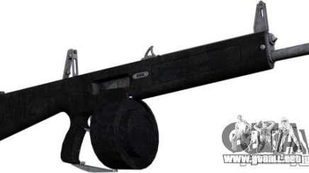 La escopeta AA-12 para GTA San Andreas