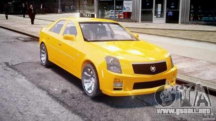 Cadillac CTS Taxi para GTA 4