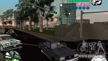 Vaz 2105 para GTA Vice City