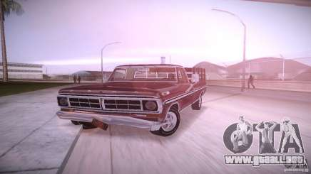 Ford F-100 1981 para GTA Vice City